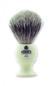 Shaving Brush - Medium Size Pure Gray Badger - Handmade