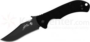 Kershaw Emerson 6024BLK CQC-2K Folding Knife 2.75 inch Black Blade, G10 and Stainless Steel Handle