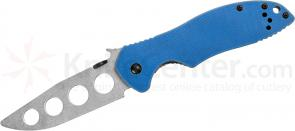 Kershaw Emerson 6034TRAINER E-Train 3.2 inch Stonewash Unsharpened Blade, G10 and Steel Handles