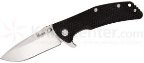 Kizer Cutlery Ki404B2 Folding Knife 3-1/2 inch VG10 Satin Blade, G10 and Titanium Handles