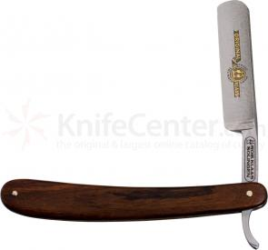 Robert Klaas 5/8 inch Hollow Ground Straight Razor, Rose Wood Handle