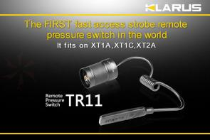 Klarus TR11RS Remote Pressure Switch for XT1A, XT2A, and XT1C Flashlights