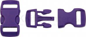 Knotty Boys Purple Bracelet Buckles, 50-Pack