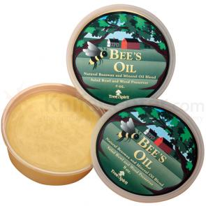 Lamson Sharp TreeSpirit Bee's Oil, Natural Beeswax and Mineral Oil Blend - 8 oz. tub