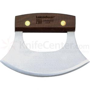 Lamson Sharp USA Pro Walnut Alaskan Ulu Knife