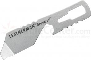 Leatherman 831678 Brewzer Keychain Size Mini Multi-Tool, Bottle Opener