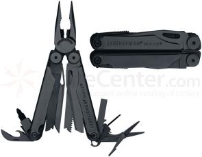 Leatherman Wave Black Multi-Tool, Nylon Sheath