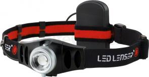 LED Lenser 880038 H5 Lightweight LED Headlamp, 25 Lumens, Black