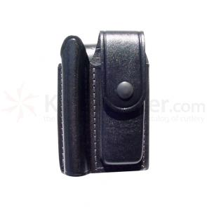Maglite Leather Holster, holds Minimag/Knife