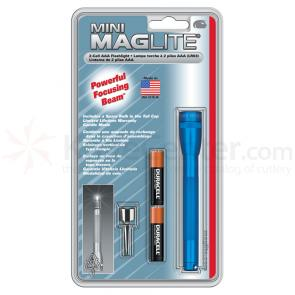 Maglite Minimag AAA Flashlight - Blue Body