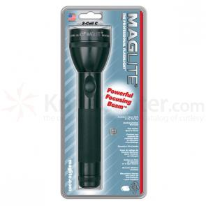 Maglite 2 C Cell Flashlight - Black Body