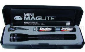 MagLite 2AAA Flashlight Black Gift Boxed