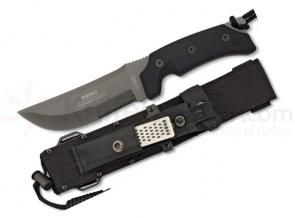 RUI Rhino, 5.5 inch Combo Blade, Nylon Sheath, Diamond Sharpener
