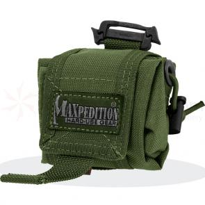 Maxpedition 0207G Mini Rollypoly Folding Dump Pouch, OD Green
