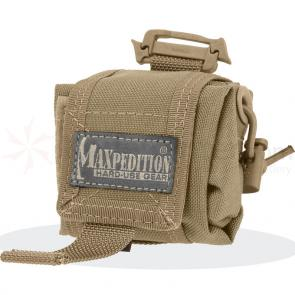 Maxpedition 0207K Mini Rollypoly Folding Dump Pouch, Khaki