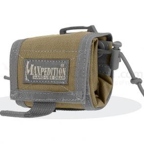 Maxpedition 0208KF Rollypoly Folding Dump Pouch, Khaki-Foliage