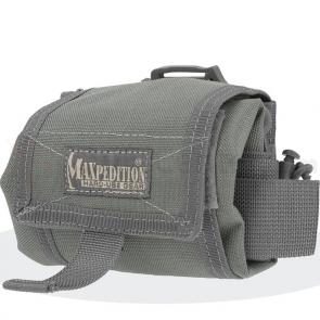 Maxpedition 0209F Mega Rollypoly Folding Dump Pouch, Foliage Green