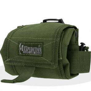 Maxpedition 0209G Mega Rollypoly Folding Dump Pouch, OD Green