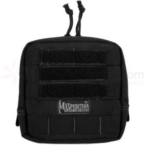 Maxpedition 0249B 6 inch x 6 inch Padded Pouch, Black