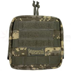 Maxpedition 0249DFC 6 inch x 6 inch Padded Pouch, ACU-Compatible Digital Foliage Camo