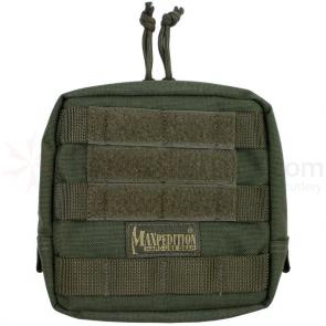 Maxpedition 0249F 6 inch x 6 inch Padded Pouch, Foliage Green