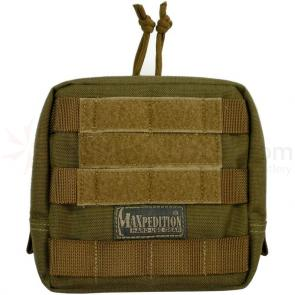 Maxpedition 0249G 6 inch x 6 inch Padded Pouch, Khaki