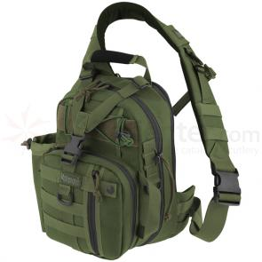 Maxpedition 0434G Noatak Gearslinger Backpack, OD Green