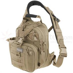 Maxpedition 0434K Noatak Gearslinger Backpack, Khaki
