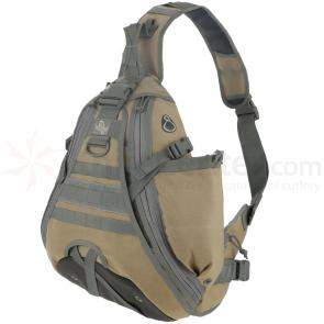 Maxpedition 0485K Monsoon S-Type Gearslinger, Khaki-Foliage
