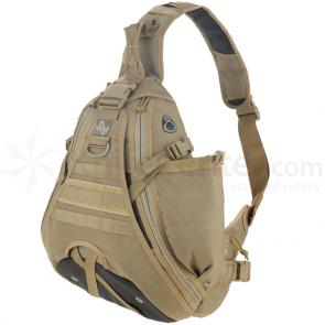 Maxpedition 0485KF Monsoon S-Type Gearslinger, Khaki-Foliage