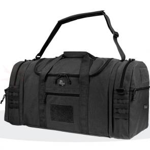Maxpedition 0653B 3-in-1 Load-Out Duffel Bag, Black