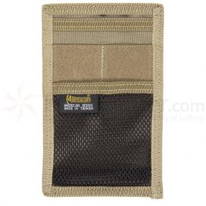 Maxpedition 3507K Hook-and-Loop Mini Organizer, Khaki