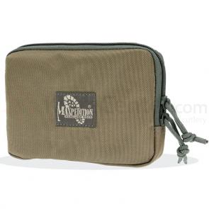 Maxpedition 3525KF Hook-&-Loop 5 inch x 7 inch Zipper Pocket, Khaki-Foliage