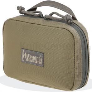 Maxpedition 3531KF Hook-&-Loop Organizer Pocket (Small), Khaki-Foliage