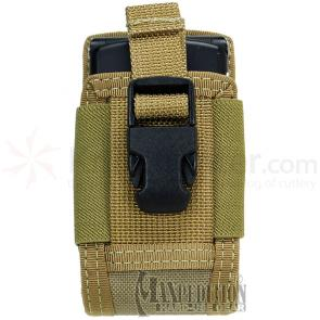 Maxpedition 0108K 4in. Clip-On Phone Holster, Khaki