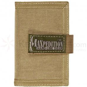 Maxpedition 0217K Urban Wallet, Khaki