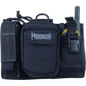 Maxpedition 0324B Triad Admin Pouch, Black