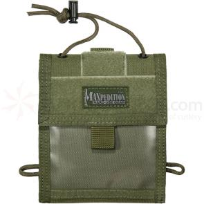 Maxpedition 0803G Traveler Deluxe Passport & Organizer, Green