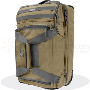 Maxpedition 5001KF Tactical Rolling Carry-On Luggage, Khaki-Foliage