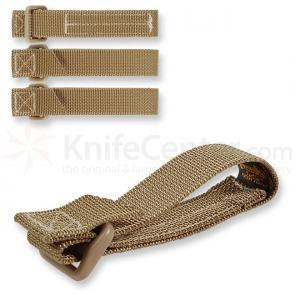 Maxpedition 9903K 3 inch TacTie (Pack of 4), Khaki