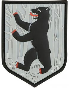 Maxpedition PVC Berlin Bear Patch, SWAT