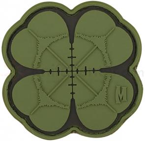 Maxpedition PVC Lucky Shot Clover Patch, Green