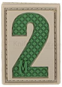 Maxpedition PVC Number 2 Patch, Arid