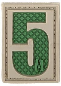 Maxpedition PVC Number 5 Patch, Arid