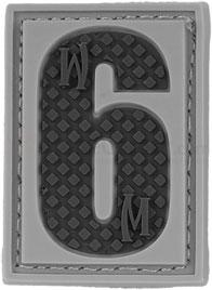 Maxpedition PVC Number 6 or 9 Patch, SWAT