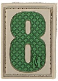 Maxpedition PVC Number 8 Patch, Arid