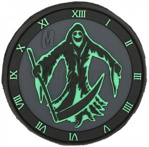 Maxpedition PVC Grim Reaper Patch, Glow