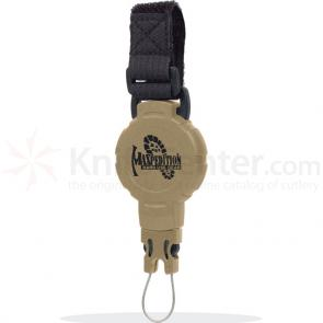 Maxpedition RM2K Tactical Gear Retractor, Medium, Strap, Khaki