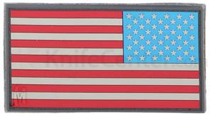 Maxpedition PVC Small Reverse USA Flag Patch