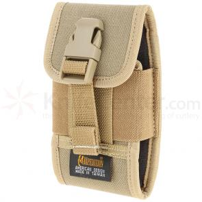 Maxpedition PT1022K Vertical Smart Phone Holster, Khaki